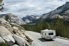 Todays Tioga Road transects Yosemite's High Country