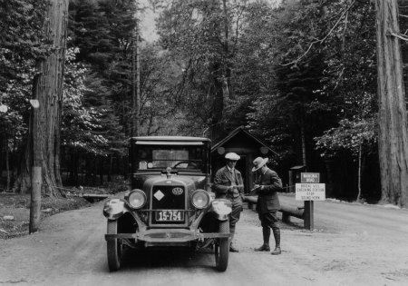 Bridal Veil Checking Station on the Wawona Road