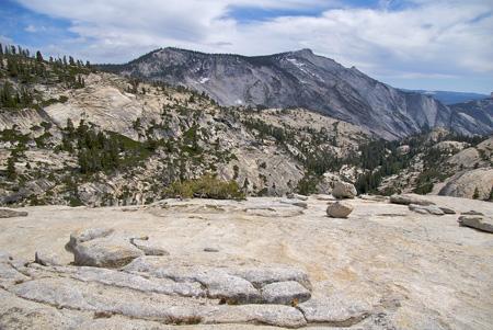 Olmstead Point Tioga Road, Yosemite