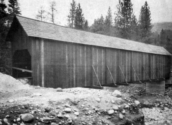 The Wawona Covered Bridge was saved.