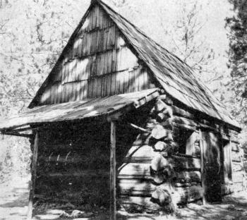 The George Anderson Cabin at the Pioneer History Center in Wawona