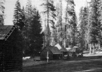 Aspen Valley Resort on Yosemites Old Tioga Road. DHH collection