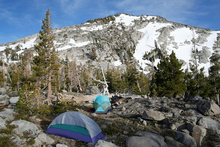 Yosemite Wilderness Backpacker Camping