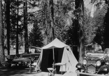 Yosemite Valley Camping In 1932. DHH Collection
