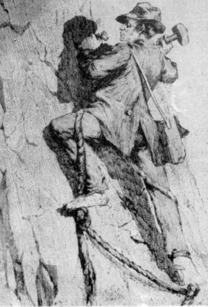 George Anderson was the first man to successfully climb Yosemites Half Dome.