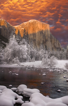 Yosemite's El Capitan is the largest granite monolith in the world