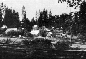 Crocker Station on the Old Tioga Road in Yosemite. DHH Collection
