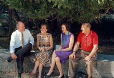 Dad, Margaret Schlichtman, Mom and Emil