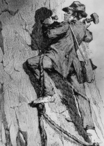George Anderson the first man to climb half dome in Yosemite