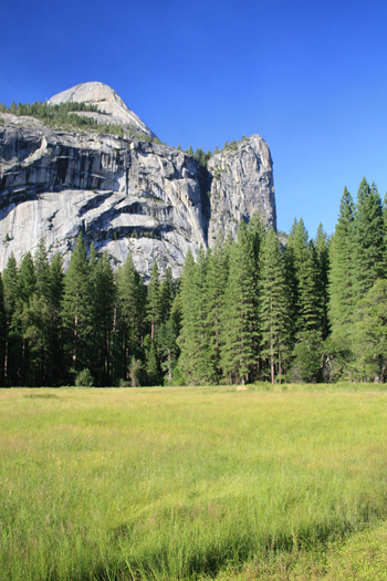 Yosemite's Royal Arches, Washington Column and North Dome