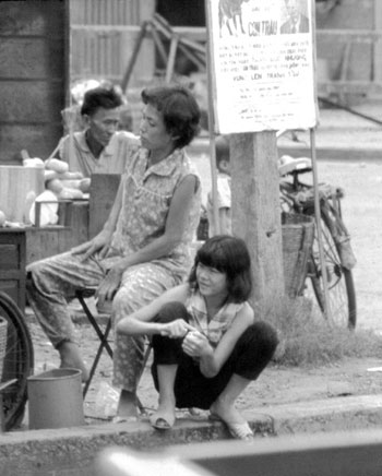 A typical Saigon Street Scene. Click Image To Go To Amazon