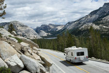 The modern Tioga Road transects Yosemite's High Country