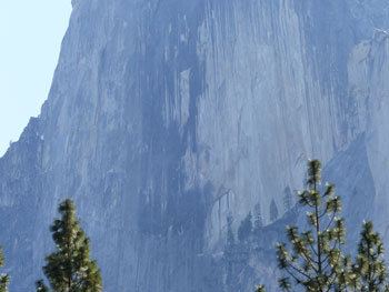 Displeased...the Great Spirit turned Tis-sa-ack into Half Dome