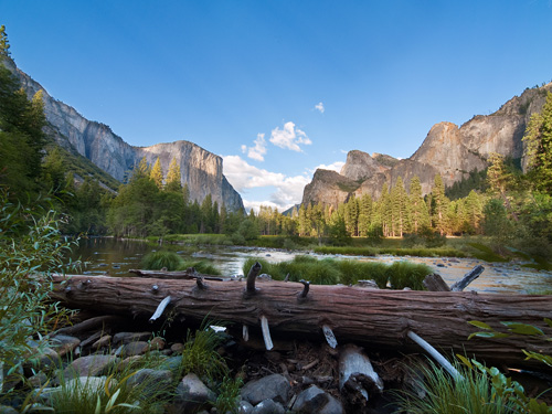 Yosemite's Valley View was known as the Gates of the Valley in the stagecoach days