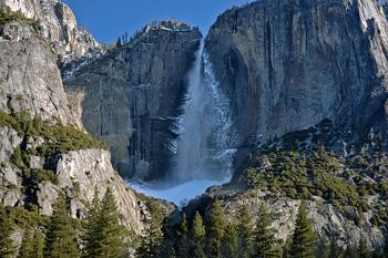 Yosemite Falls Ice