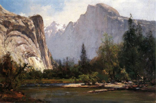 Yosemites Painter Thomas Hill