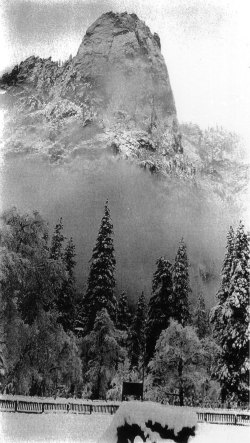 Early Yosemite photographer George Fiske shot beautiful winter scenes