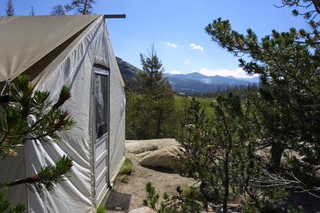 Yosemite High Country Camping At Sunrise Camp. Courtesy DNC