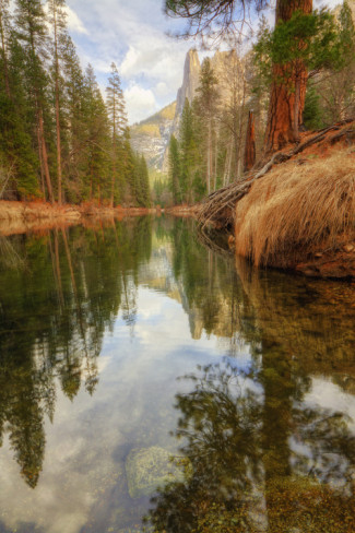 Serene Merced River in the summer. AllPosters.com