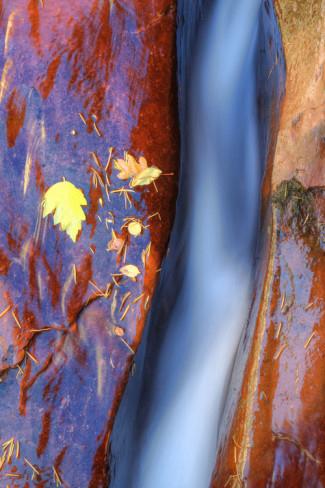 Yosemite Cobalt Waterfall. AllPosters.com