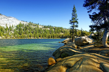 High Country Lake in Yosemite. AllPosters.com