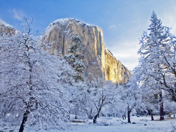 El Capitan early morning winter sun. AllPosters.com