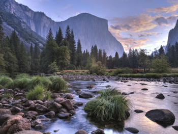 Yosemite valley from Valley View. AllPosters.com