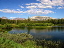 Tuolumne Meadow is the hub for the High Sierra Camps