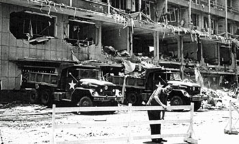 The results of a car bomb. Click Image To Go To Amazon