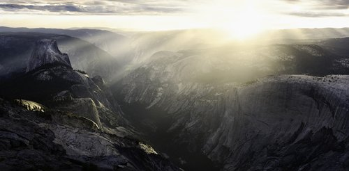 Half Dome From Clouds Rest, Yosemite National Park