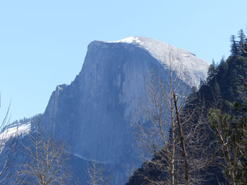 Half Dome from a distance