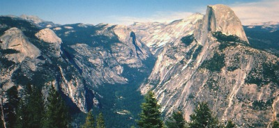 Yosemite Panorama from Glacier Point