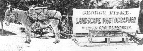 Early Yosemite photographer George Fiskes