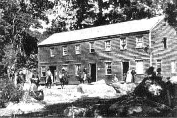 The Hutching's Hotel in Old Yosemite