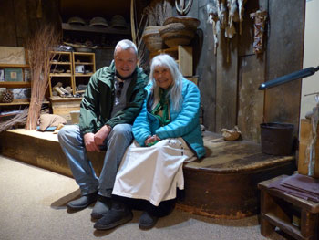 Me and Julie in the old museum March 2014