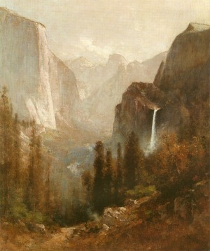 Thomas Hill's painting Yosemite from Inspiration Point