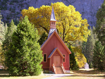 The Yosemite Chapel