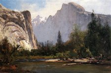 Thomas Hill paintings of Yosemite.