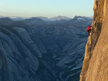 Half Dome on the 3rd Zig Zag. Jimmy Chin AllPosters.com