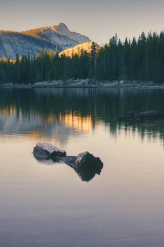 Tenaya Lake sunset. AllPosters.com