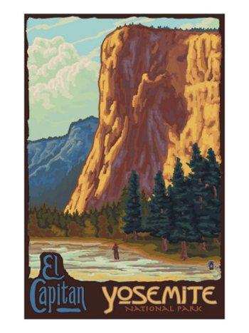 El Capitan-Yosemite National Park-AllPosters.com