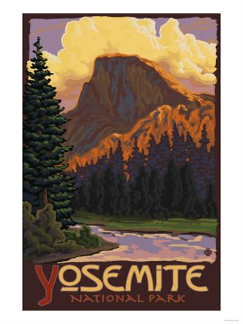 Half Dome-Yosemite National Park-AllPosters.com