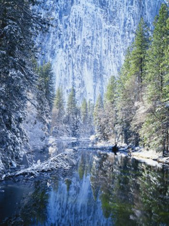 Yosemite Frosty Morning. AllPosters.com